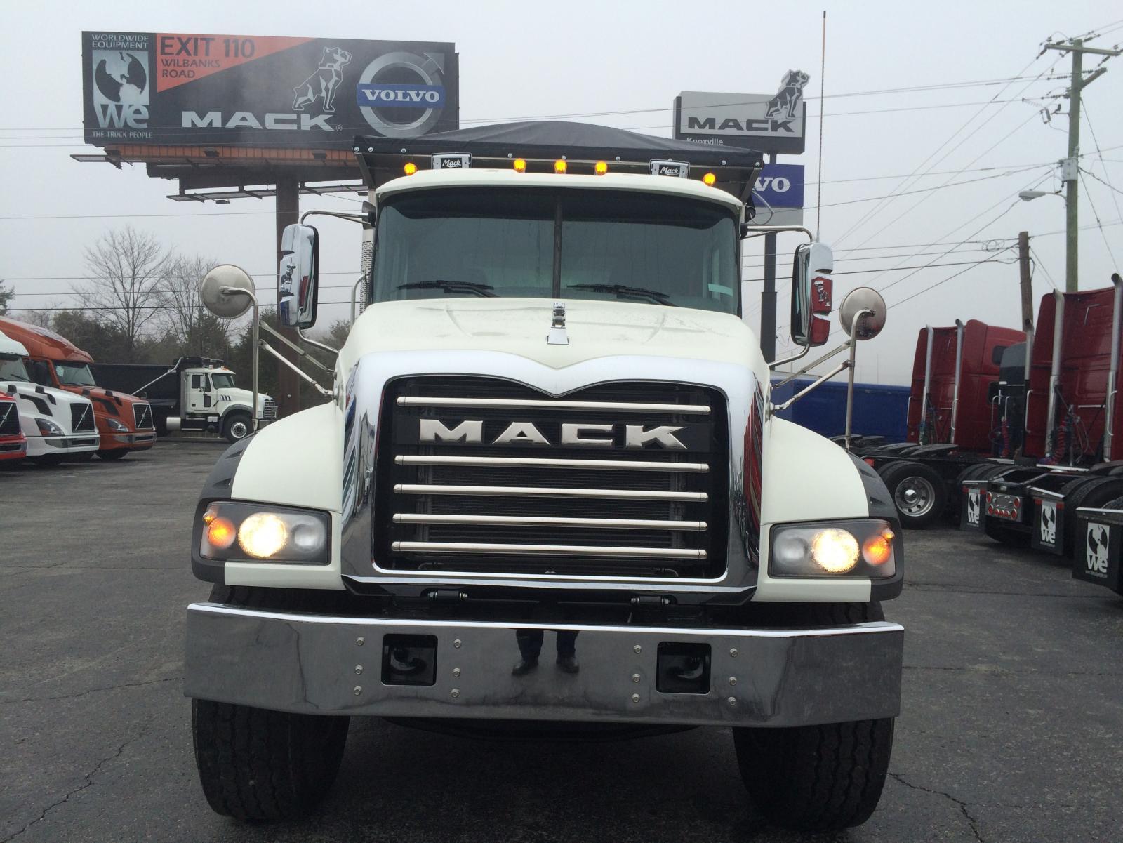 Mack Quad Dump Trucks : Mack gu quad axle dump trucks modern truck