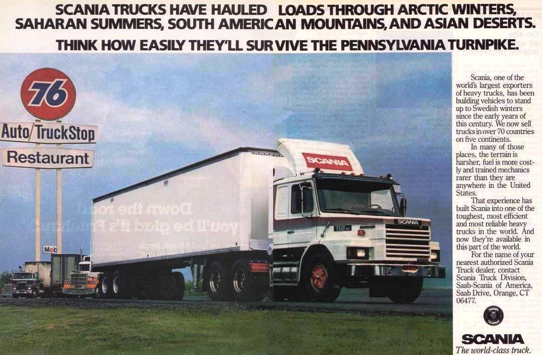 When Scania trucks roamed North America - Other Truck Makes - BigMackTrucks.com