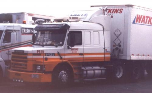 When Scania trucks roamed North America - Other Truck Makes