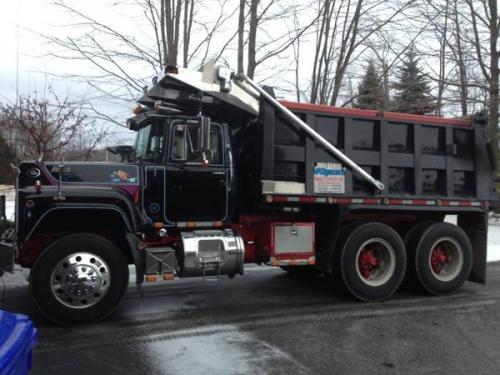 89 R Model Dump Trucks For Sale Bigmacktrucks Com