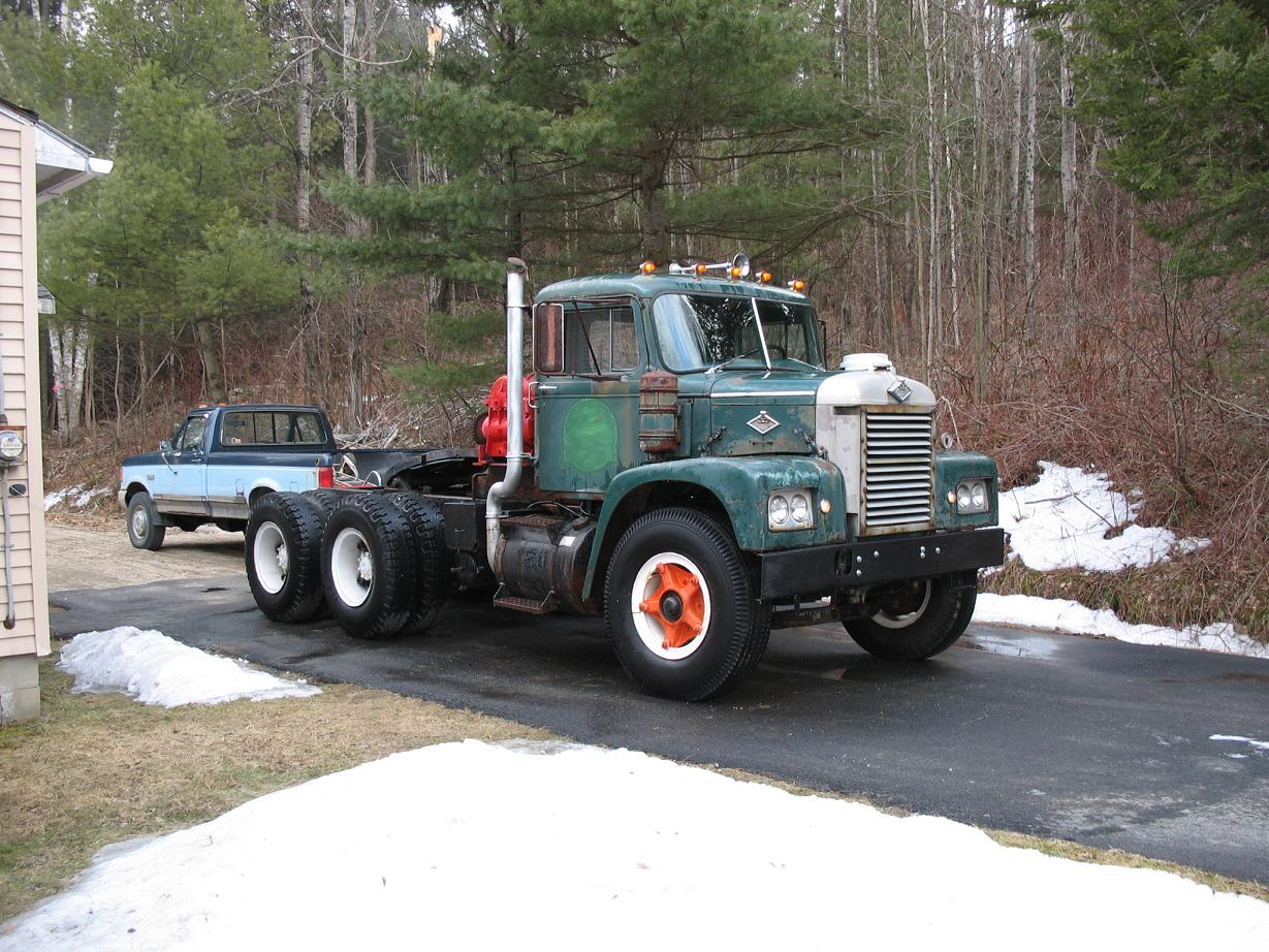 1968 Mack Truck : Diamond reo other truck makes bigmacktrucks