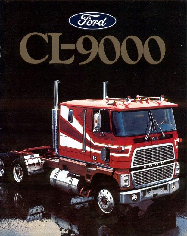 ford cl 9000 ford s surprise in 1977 other truck makes rh bigmacktrucks com Dodge COE Trucks 1941 Ford Coe Truck