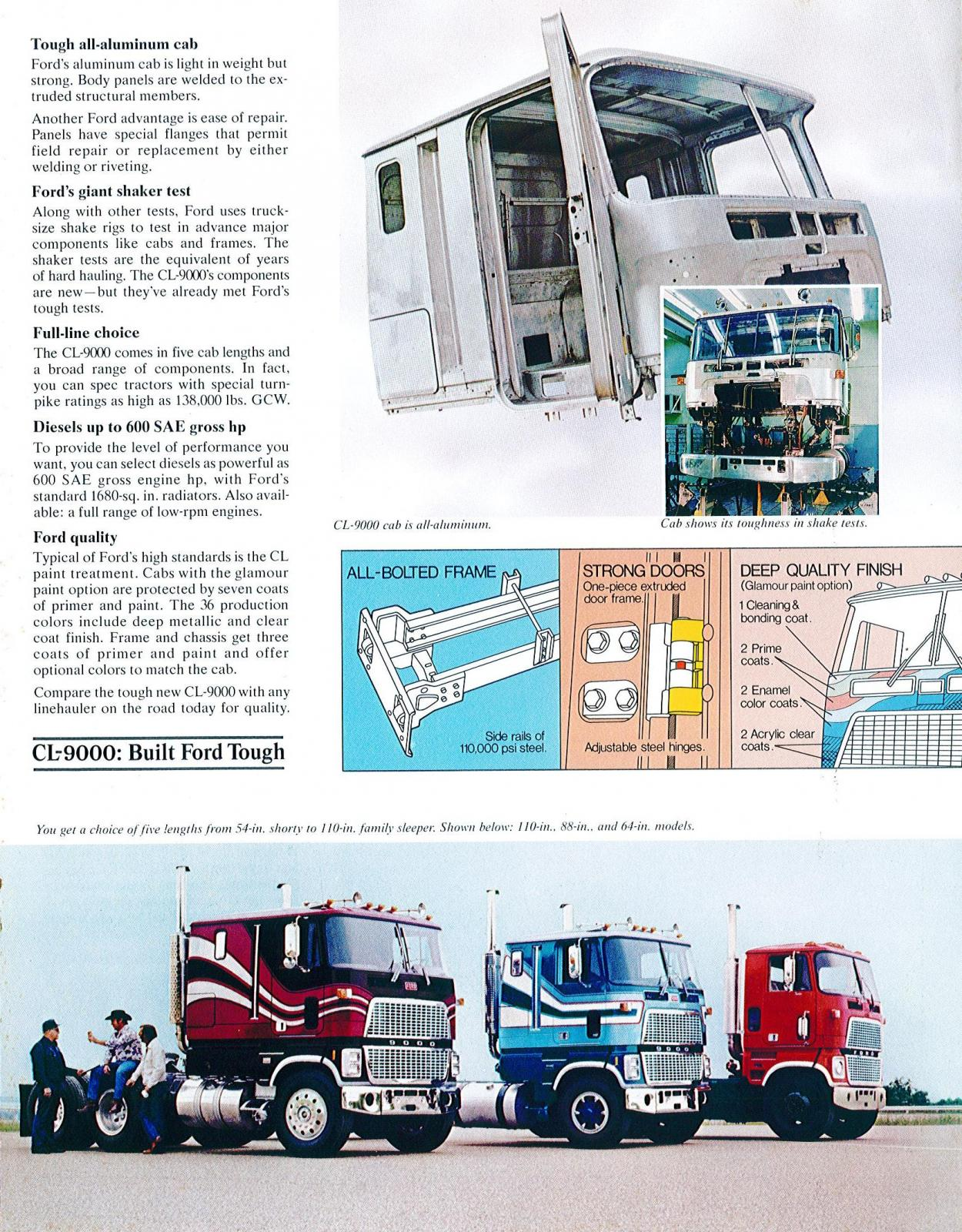 ford cl 9000 ford s surprise in 1977 other truck makes rh bigmacktrucks com 1947 Ford Coe Truck 1950 ford coe truck for sale