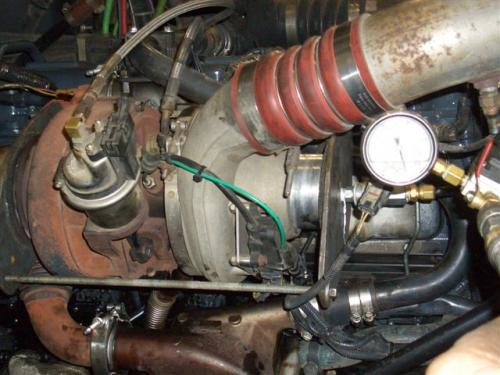 2003 Mack 427 Oil Coming From Blow By Tube Engine And