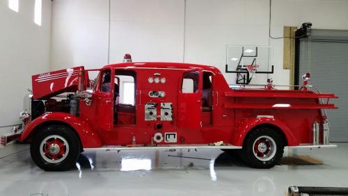 1948 Mack Truck : Mack l fire truck antique and classic trucks