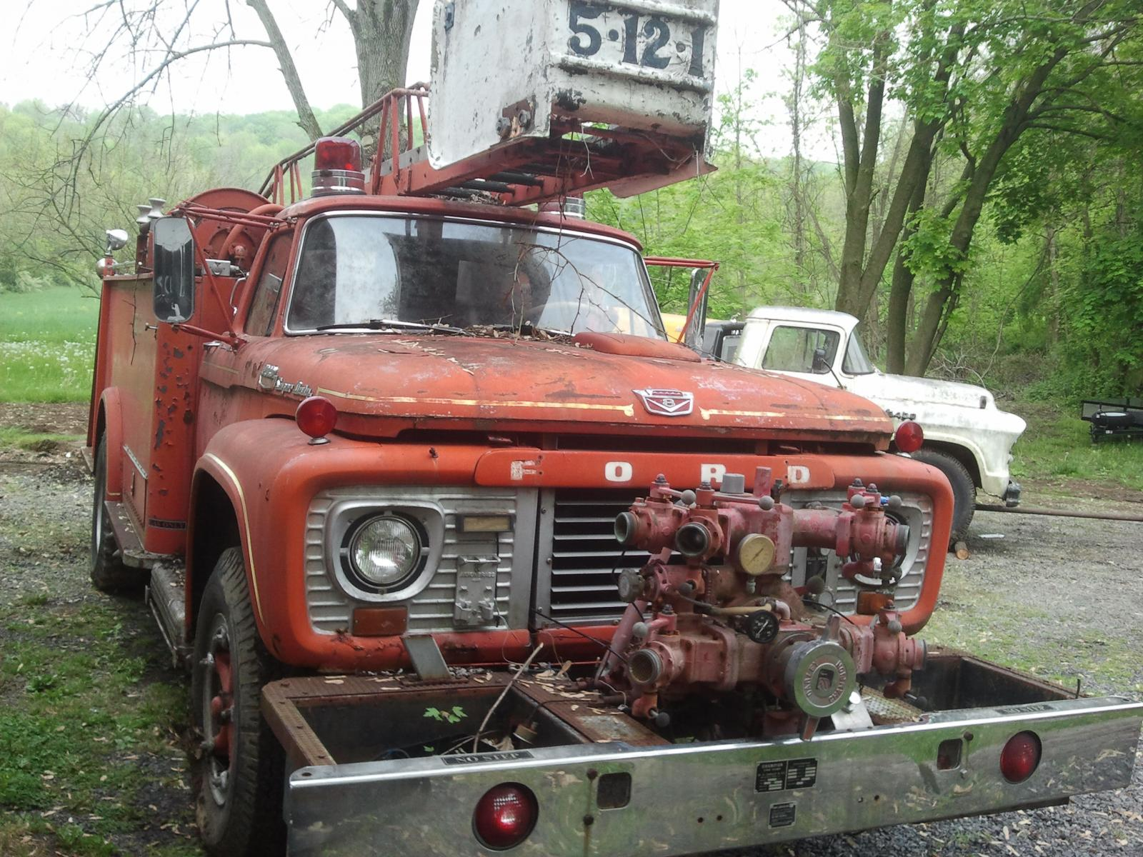 1964 Ford F850 Fire Truck $1200 - Trucks for Sale ...