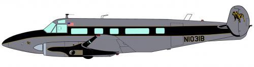 Bulldog Airlines II, Volpar Turboliner.jpg