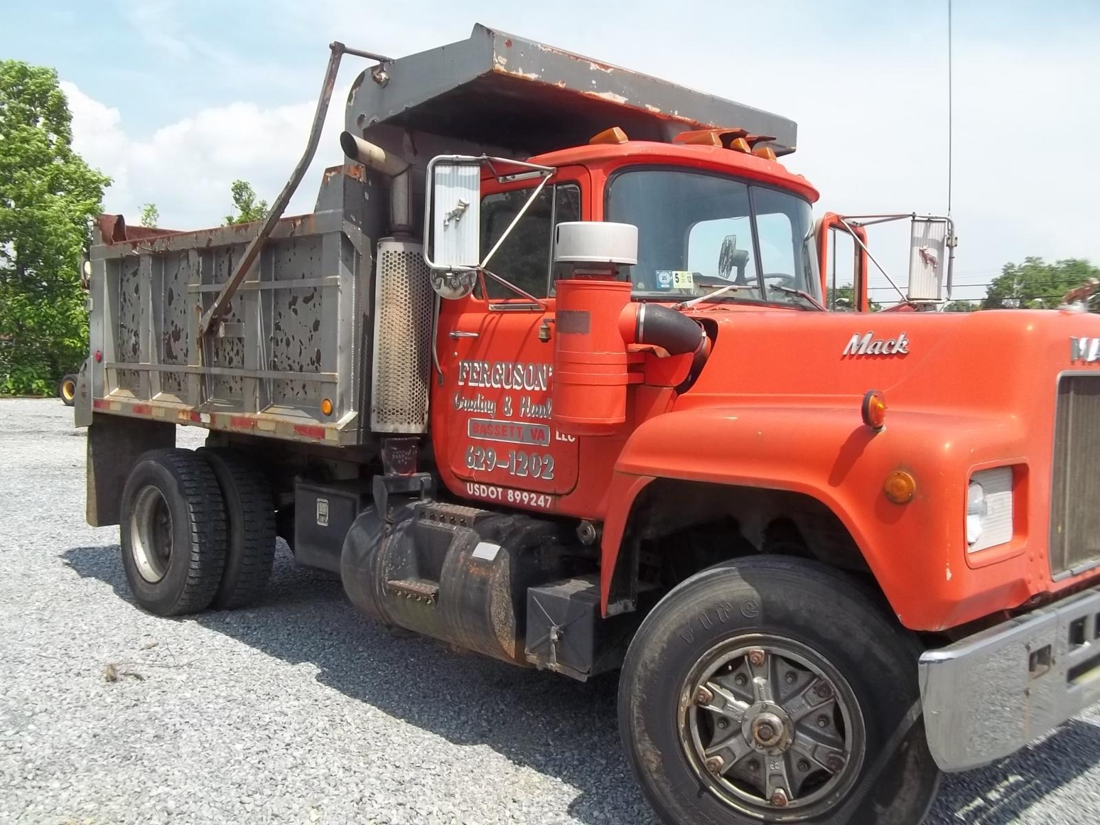 Trucks For Sale In Wv >> mack r dump - Trucks for Sale - BigMackTrucks.com