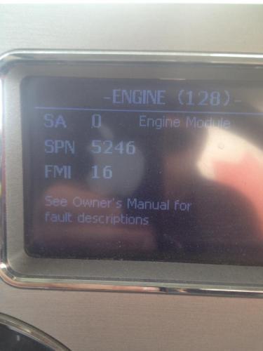 SCR Fault - Engine and Transmission - BigMackTrucks com