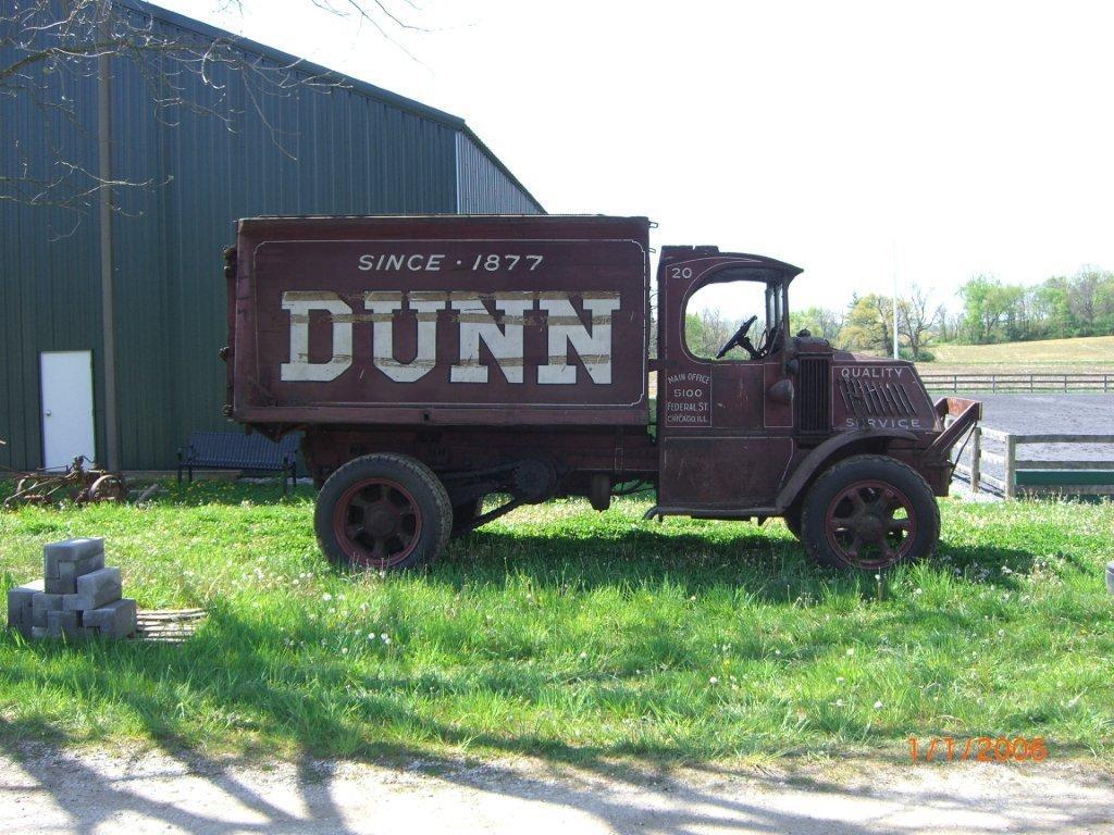 1927 Bulldog Dunn Co Coal Truck Antique And Classic