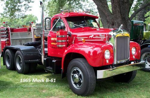 Mack Trucks B61 Models : Mack b antique and classic trucks general