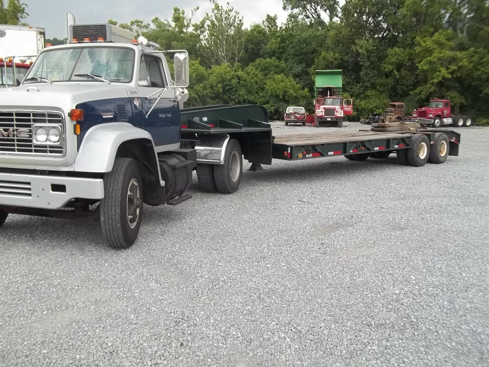 1974 Gmc 9500 Amp Lowbed 25ton Trucks For Sale