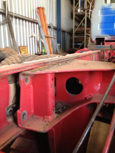Cleaning rust out of double chassis - Exterior, Cab, Accessories and