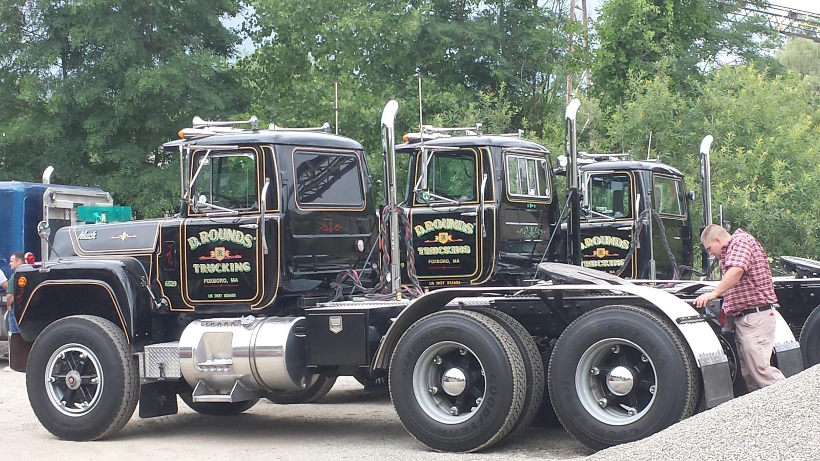 Worcester Sand & Gravel truck show - Truck Shows and Events - BigMackTrucks.com