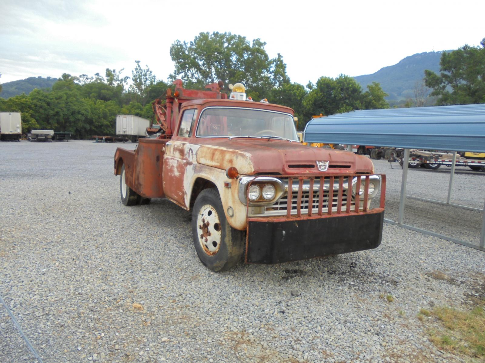 1960 ford tow truck trucks for sale. Black Bedroom Furniture Sets. Home Design Ideas