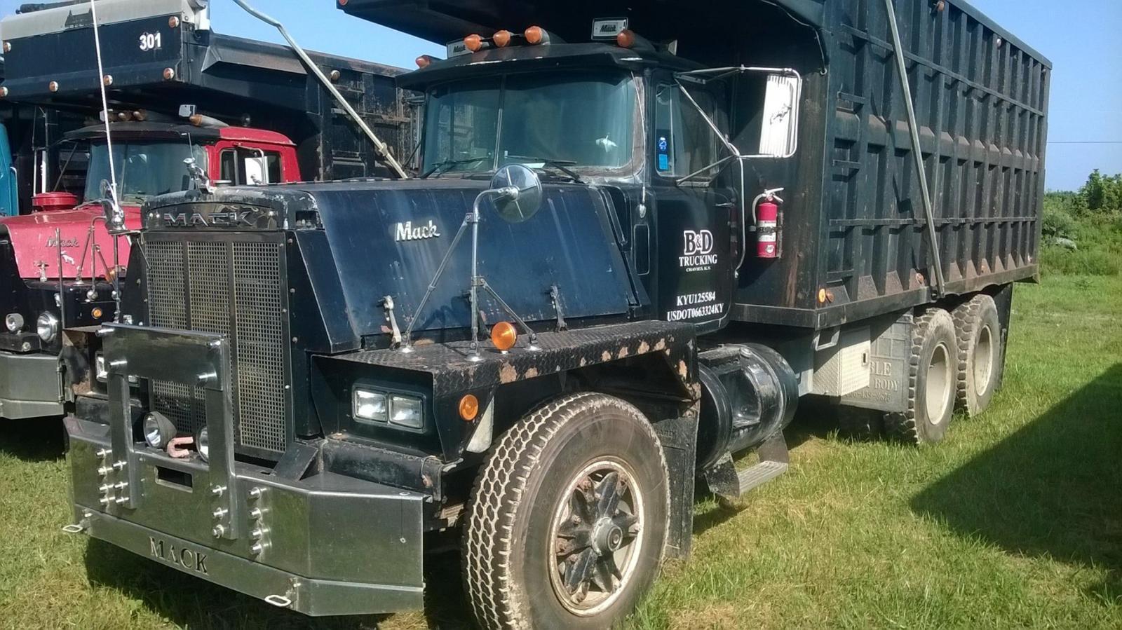 Trucks For Sale: Selling My Fleet Of 15 Mack Coal Trucks.