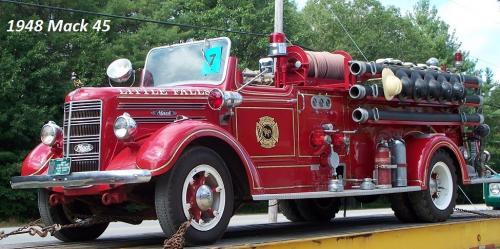 1948 Mack Truck : Mack fire apparatus bigmacktrucks