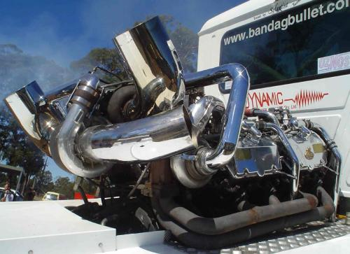 Mack Racing Truck Conversion - Modern Mack Truck General