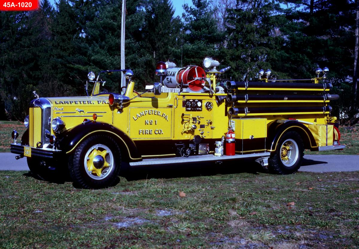 1950 To 1965 Mack Trucks : Looking for mack a model lampeter fire company