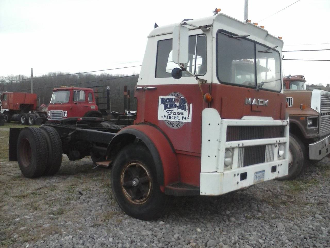1973 Mack Tractor Truck : Mack mb tractor trucks for sale bigmacktrucks