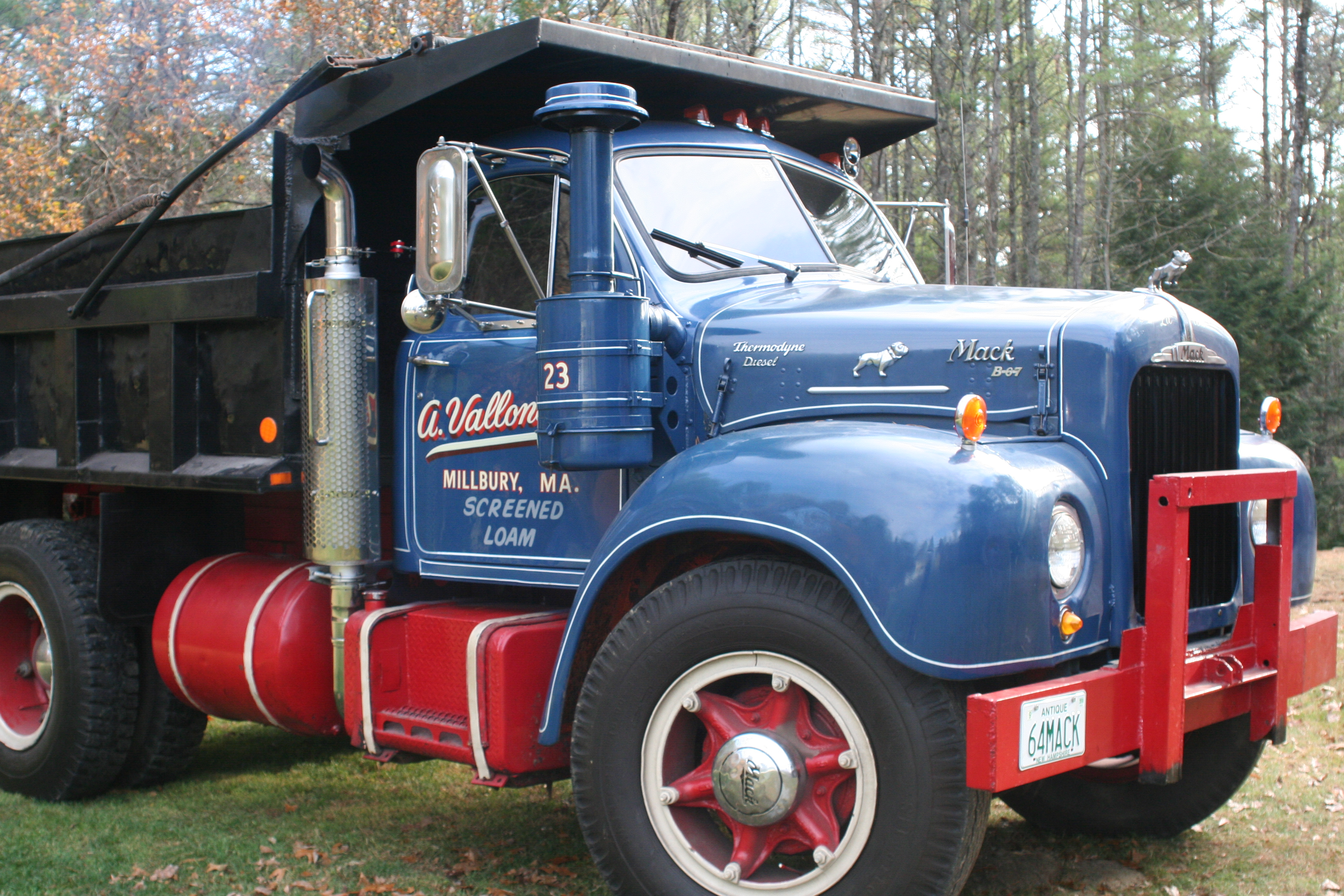 1964 Mack B Model : B brake part numbers air systems and brakes