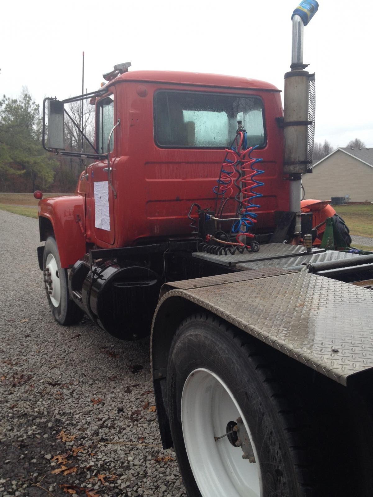 1979 Mack Tractor Truck : Mack r model lowboy tractor miles trucks