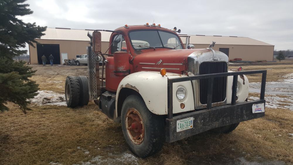 Best Diesel Engine Truck >> 1959 mack b61 - Trucks for Sale - BigMackTrucks.com