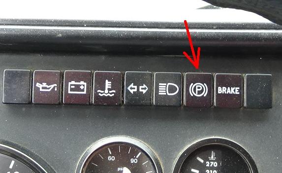 Dashboard Parking Brake Warning Light Stays On  Air Systems and Brakes  BigMackTrucks