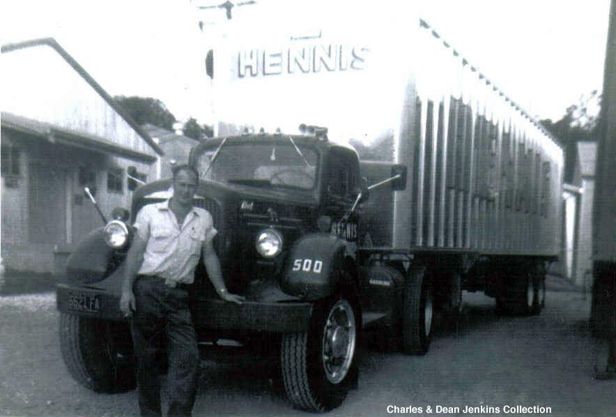 My Dad , 1963 , Hennis Freight