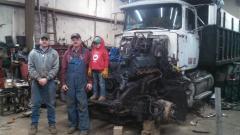 3 Generations of Mack Teamsters