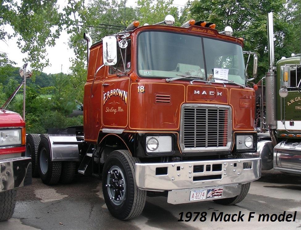 1978 Mack F model