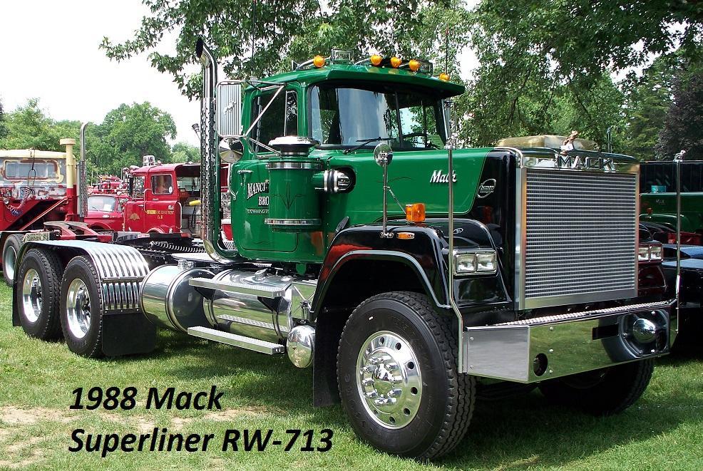 1988 Mack Superliner RW-713