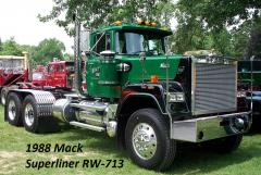 1988 Mack Superliner RW-713