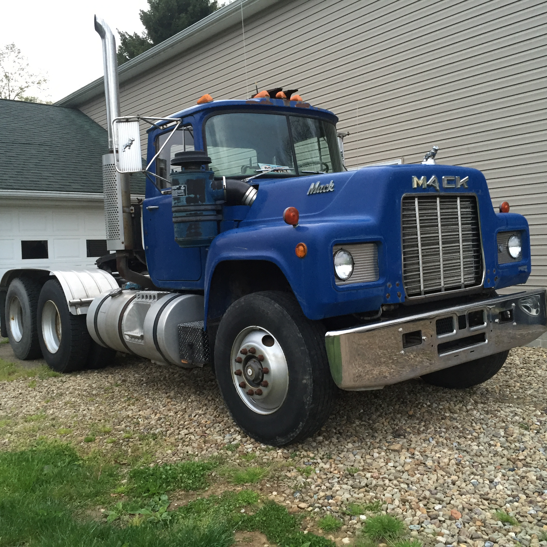R Model Mack Show Truck : R model antique and classic mack trucks general