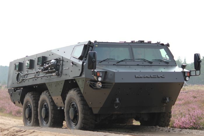 mack defense partners to produce renault armored personnel carrier trucking news. Black Bedroom Furniture Sets. Home Design Ideas