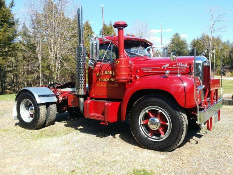 B 61 Mack Trucks : B auction in maine trucks for sale