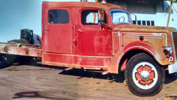 Ljt Mack Truck 1948 : Mack ex fire truck trucks for sale bigmacktrucks
