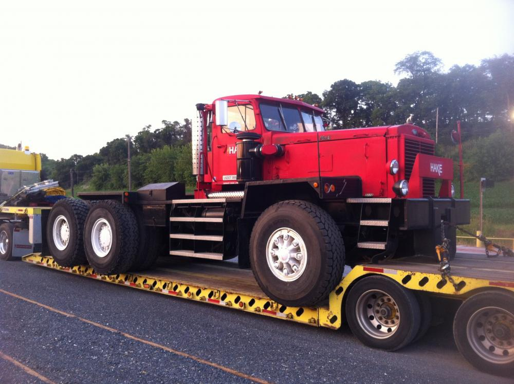 a big cool mack antique and classic mack trucks general discussion Mack Coal Trucks i know nothing about it other then it s old it s red it s big and its a mack it s currently parked in a wide spot 7 miles from my house in central pa