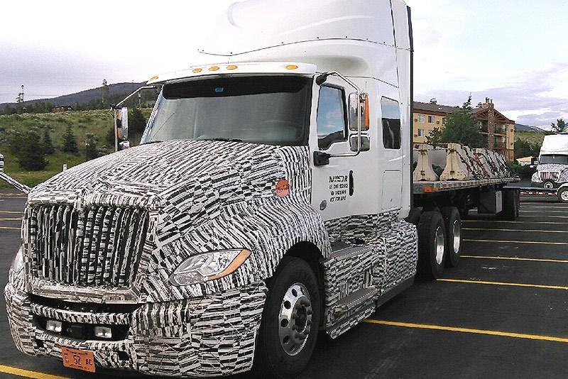 "Navistar ""LT"" prototype spotted - Trucking News ..."