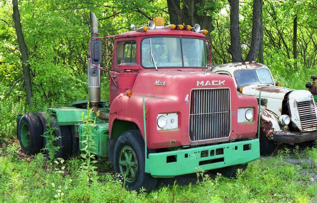 St. Johnsbury Trucking Company Old Macks - Antique and ...