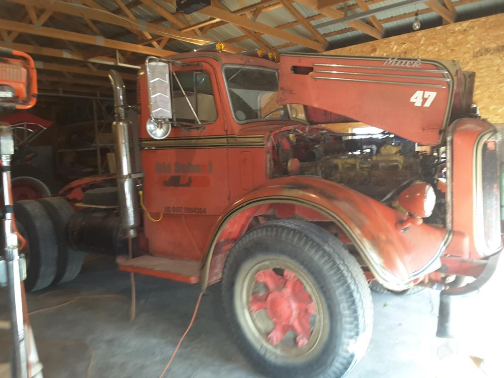 Ljt Mack Truck 1948 : Mack model ljt introduction forum bigmacktrucks