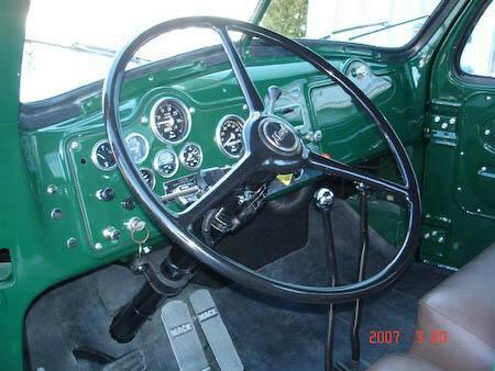 B model interior - Antique and Classic Mack Trucks General ...