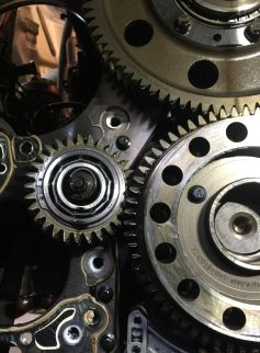 2012 Mp8 Double Idler Gear Pinning Engine And
