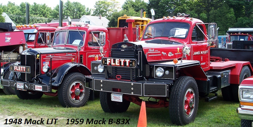 Ljt Mack Truck 1948 : Mack ljt and b antique classic