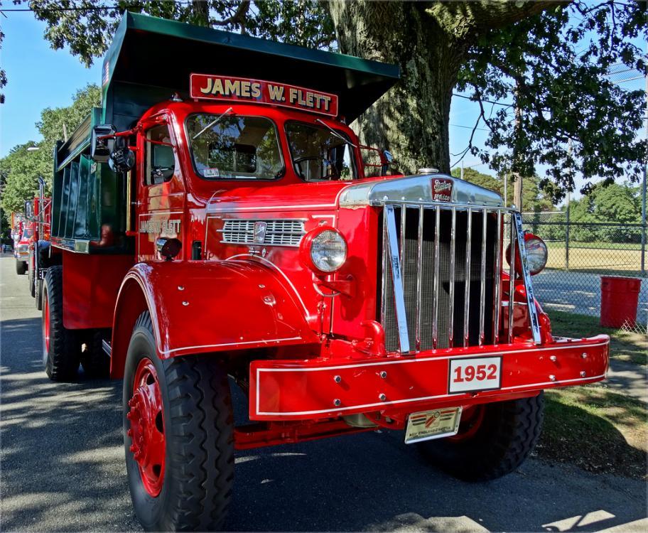 1948 Mack Truck : Mack ljt and b antique classic