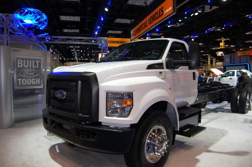 Ford Motor Co At Ntea 39 S Work Truck Show Trucking News