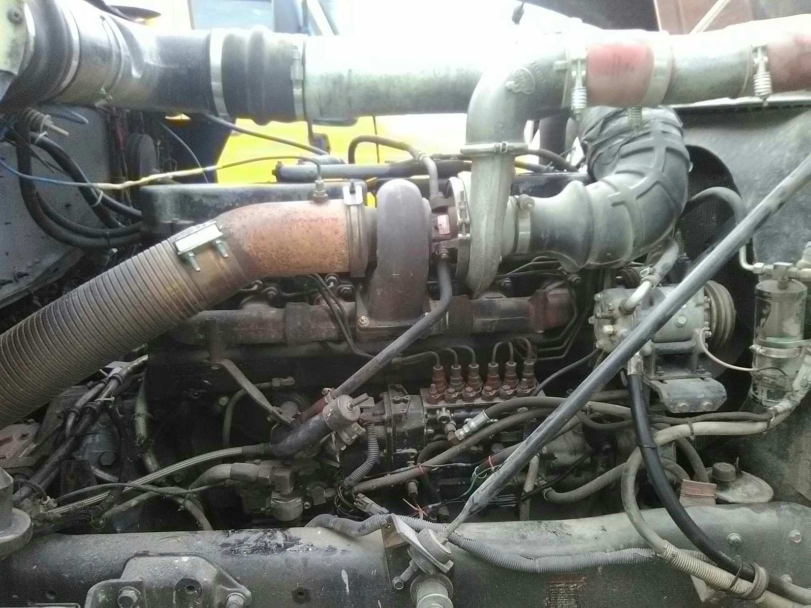 Mack E7 from Vmac1 to mechanical - Engine and Transmission