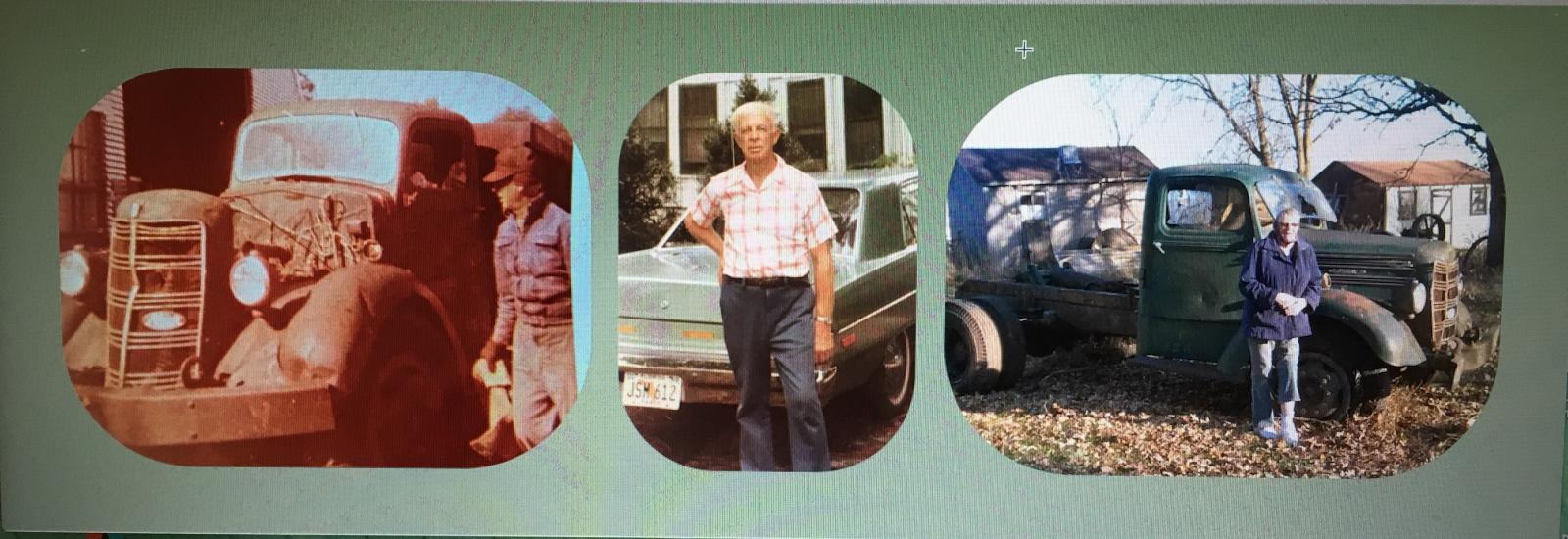 Great grandpa Gus, grandpa Jerry, and Grandma Betty and Gus #9