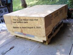 New Nissan Leaf battery pack
