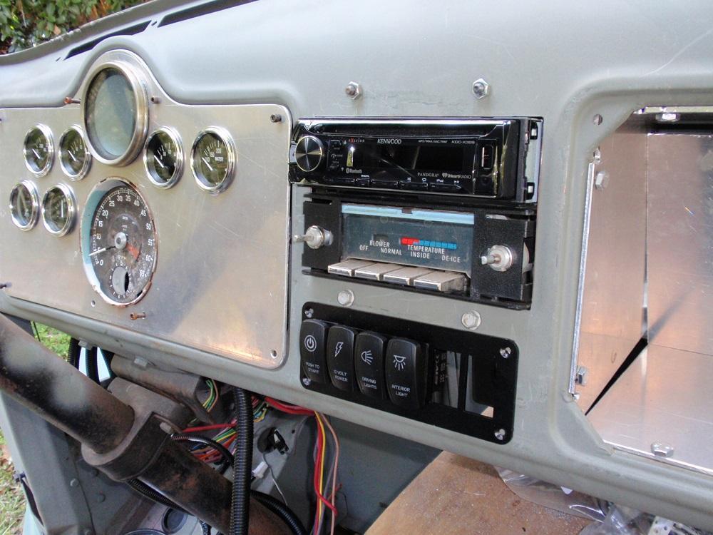 Radio, A/C, Switches